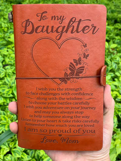 Mother To Daughter - PROUD OF YOU - Vintage Journal