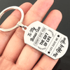 Bonus Son - i Didn't Give You The Gift Of Life Keyring