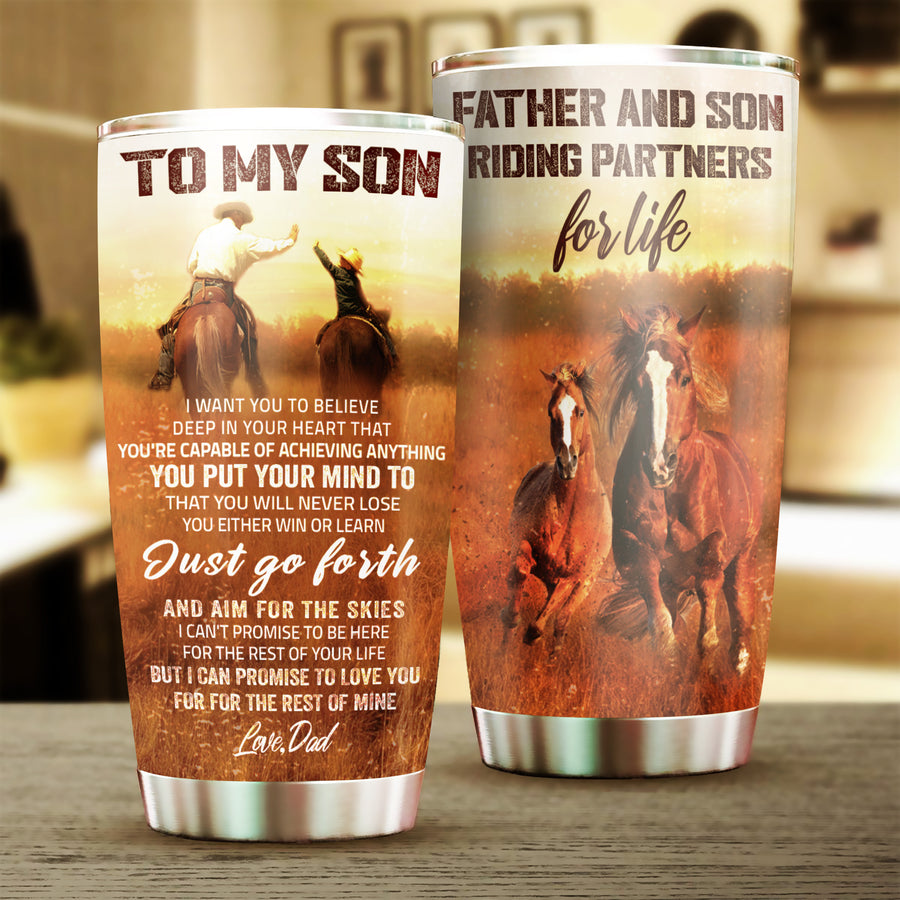 Dad To Son - you will never lose - Tumbler