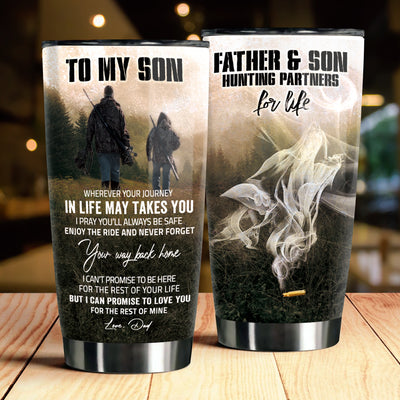 Dad to Son - Enjoy the ride and never forget your way back home - Tumbler