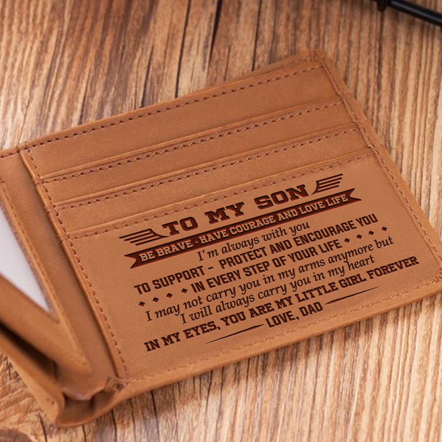 Dad To Son - I'm Always With You - Bifold Wallet