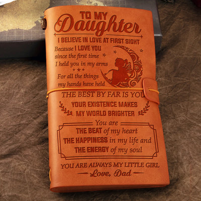 Dad to Daughter - The Best By Far Is You - Vintage Journal