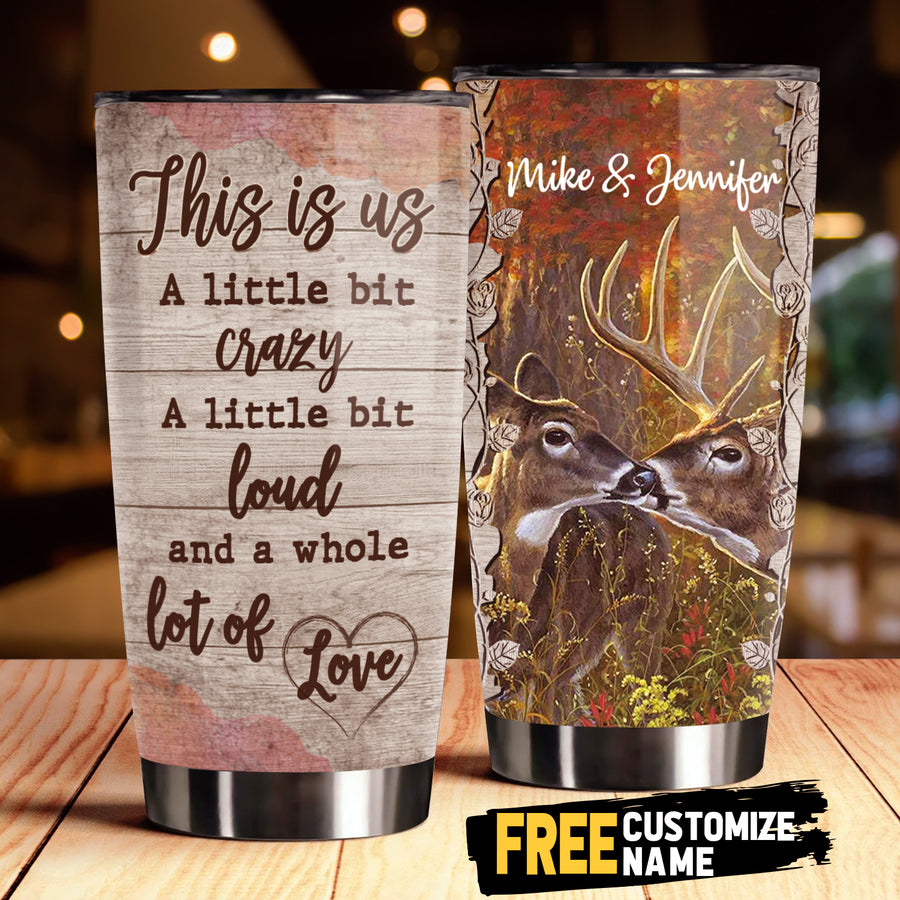 To My Wife - This is us - Personalized Tumbler