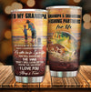 To My Grandpa - Fishing Partner - Tumbler