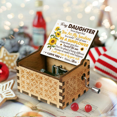 Mom To Daughter - You Are My Sunshine - Music Box Color