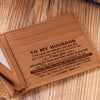To My Husband - Thank You For Loving Me Unconditionally - Bifold Wallet