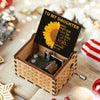 Dad To Daughter - Be A Sunflower - Colorful Music Box