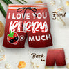 Couple Matching - I Love You Berry Much - Shorts