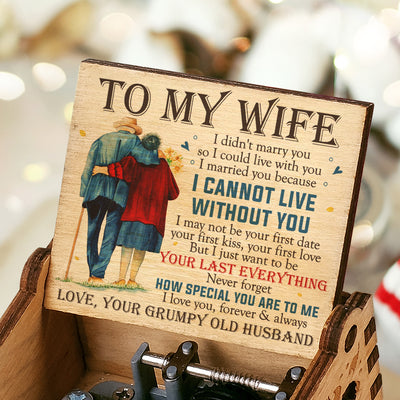 Husband To Wife - I Love You, Forever & Always - Colorful Music Box
