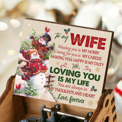 Husband To Wife - Loving you is my life - Music Box Color