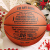 Dad to Son - I Love You To The Moon And Back - Basketball