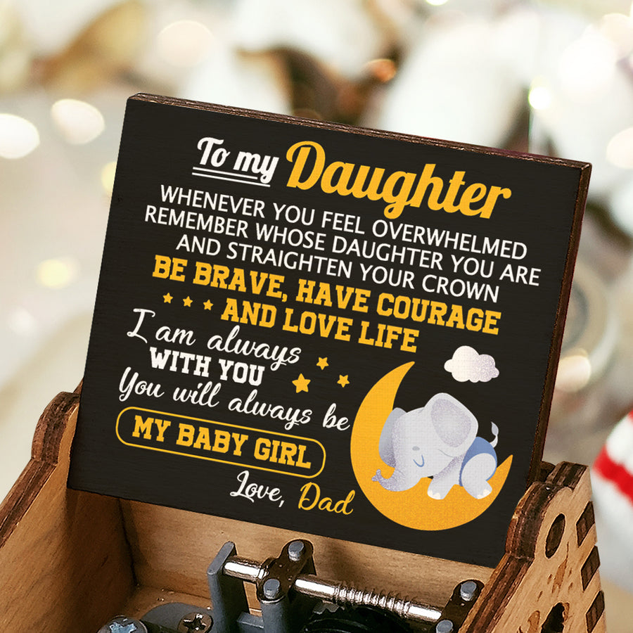 Dad To Daughter - I Am Always With You - Colorful Music Box