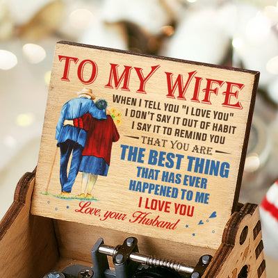 Husband To Wife - You Are The Best Thing - Colorful Music Box