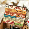 Mom To Daughter - Be A Sunflower - Music Box Color