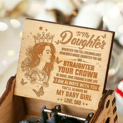 Dad To Daughter - My Baby Girl - Music Box