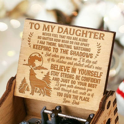 Dad To Daughter - Protect What's Mine - Music Box