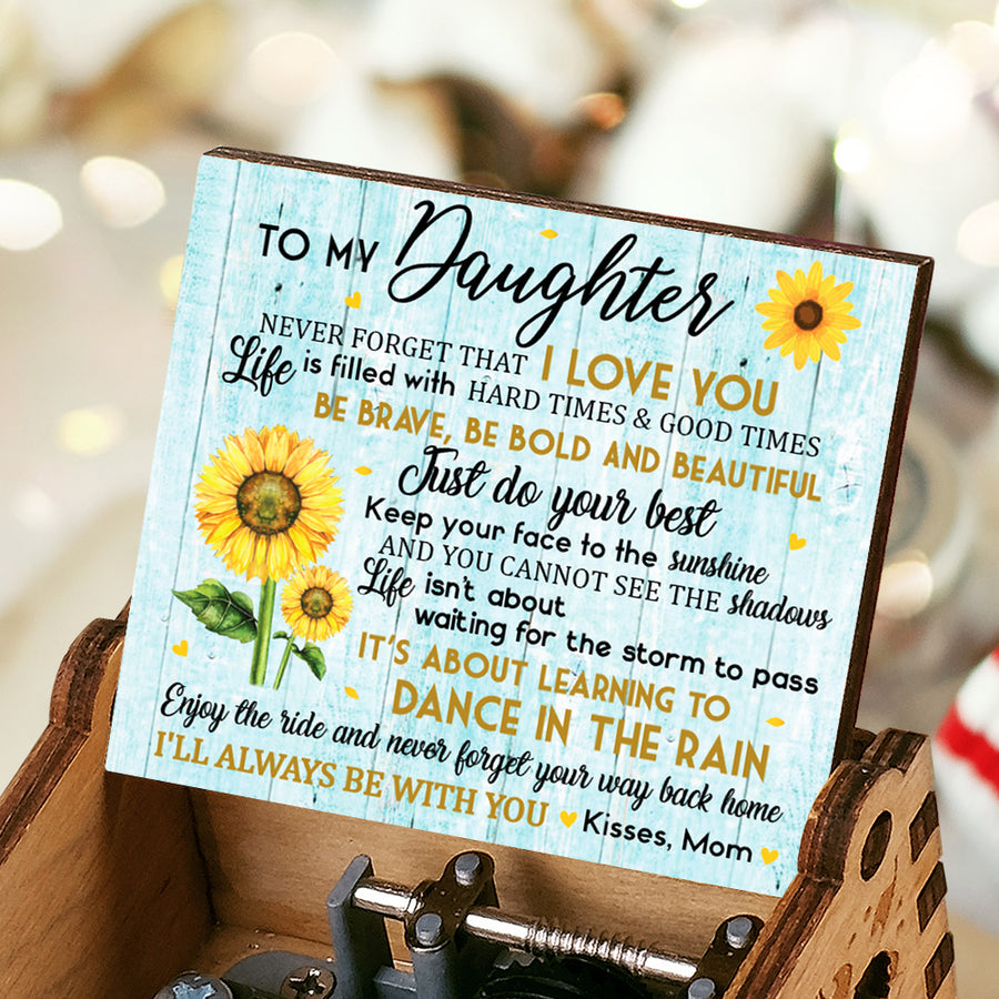 Mom to Daughter - Always Be With You - Music Box Color