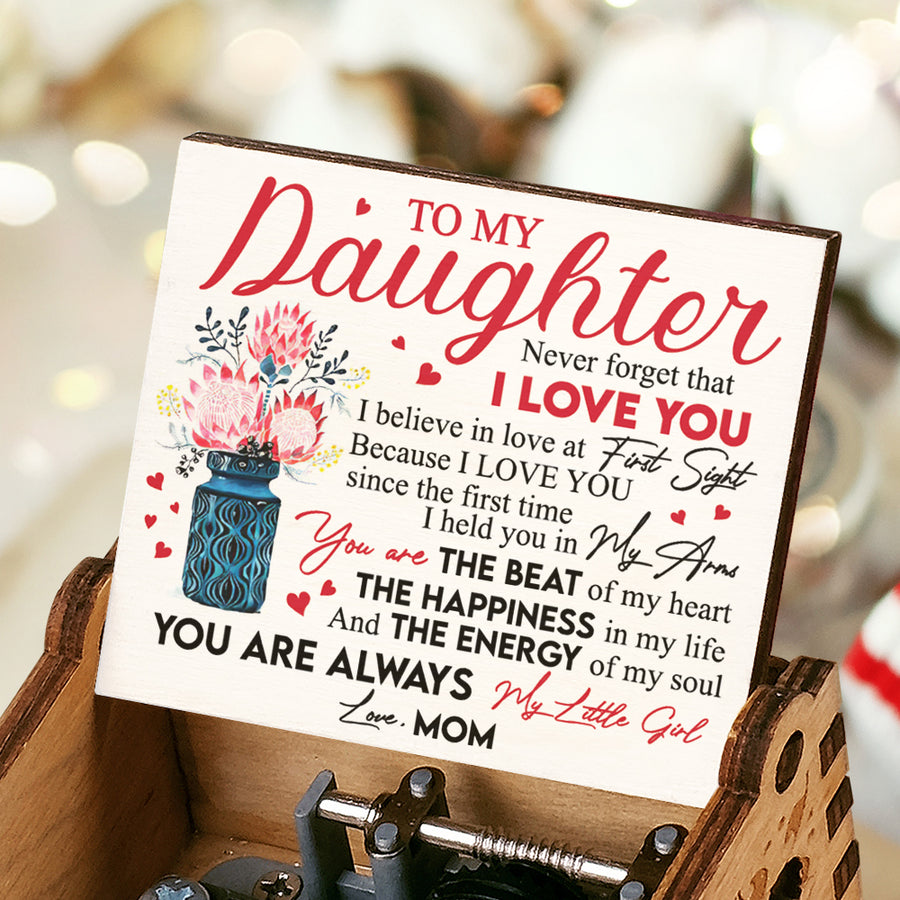 Mom To Daughter - Because I love you - Music Box Color