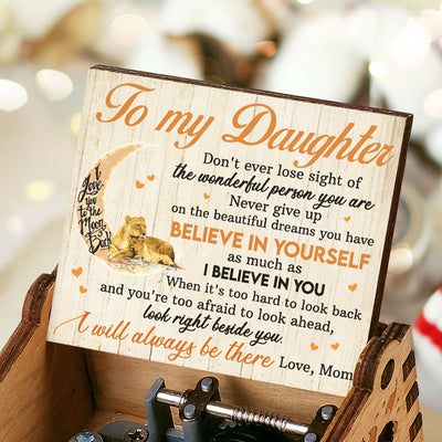 Mom To Daughter - I will always be there - Music Box Color