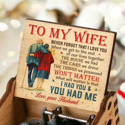 Husband To Wife - I Had You And You Had Me - Colorful Music Box