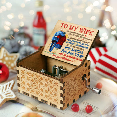 Husband To Wife - I Wish I Could Turn Back Time - Colorful Music Box