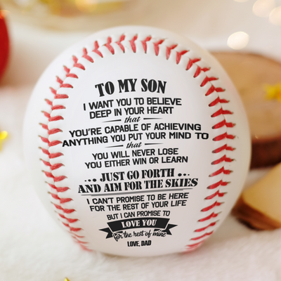Dad To Son - You Will Never Lose - Baseball