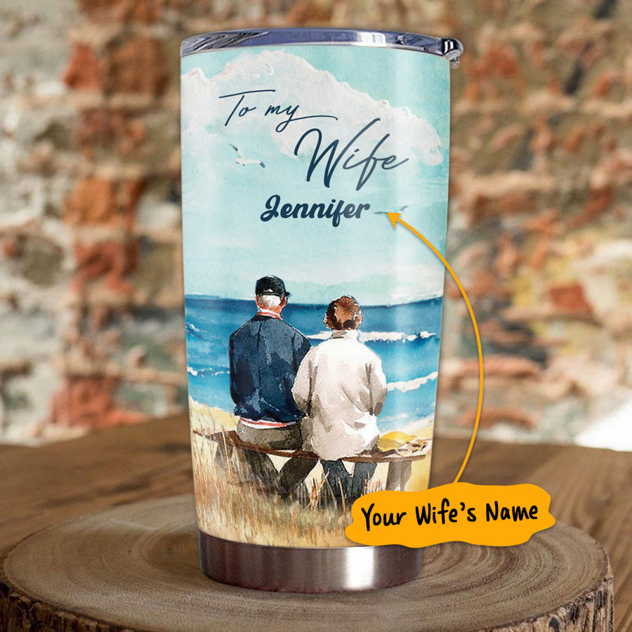 Our life ain't no fairy tale - Personalized Tumbler