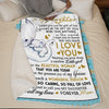 Mom to Daughter - You Are Such A Wonderful Person - Blanket