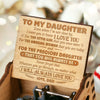 Dad To Daughter - Event When I'm Not Close By - Music Box