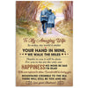 To My Wife - My World Is Smile - Vertical Matte Poster