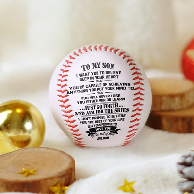 Mom To Son - You Will Never Lose - Baseball
