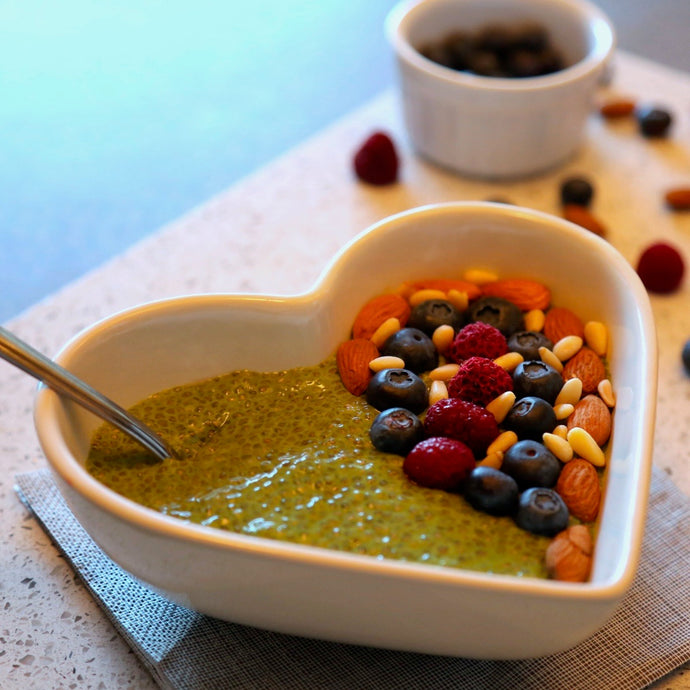 No-Fuss Food: Matcha Chia Pudding