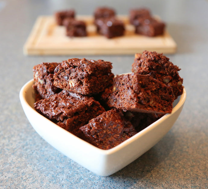 Not-So-Guilty Pleasures: Cacao and Coconut Sugar Brownies