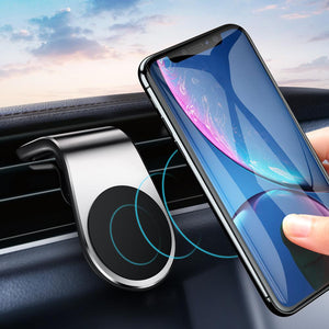 Car Phone Holder Mount Magnet Mobile Stand