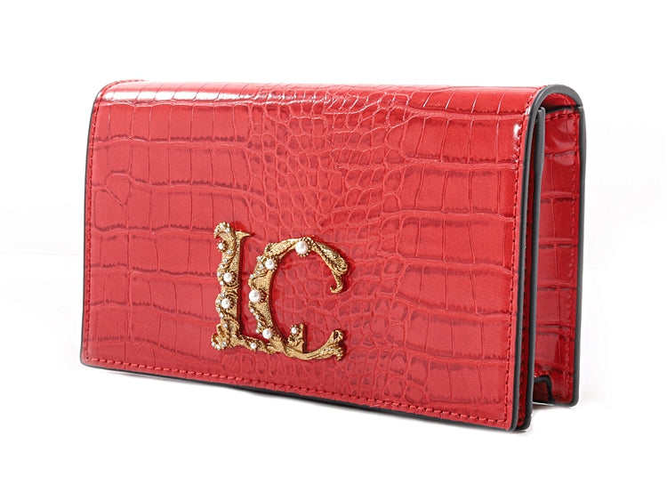 NIGHT EDITION POCHETTE COCCO - RED - mcfcuratedboutique