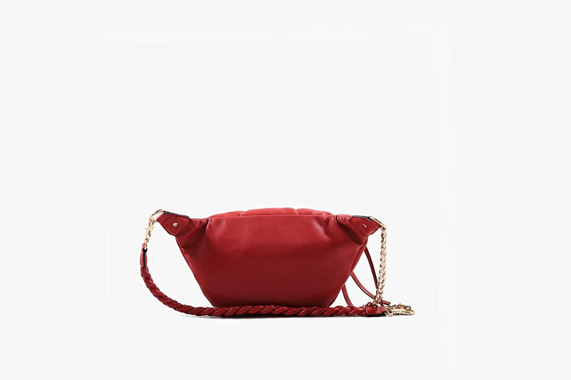 Soft Plum Belt Bag - Red