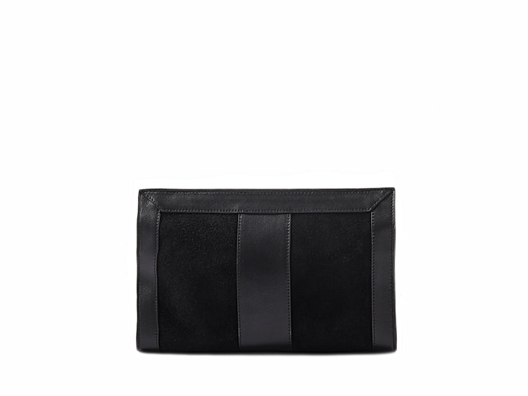 OPHELIA CONTINENTAL CLUTCH- BLACK