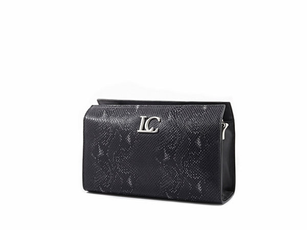 OPHELIA CONTINENTAL CLUTCH - SNAKE