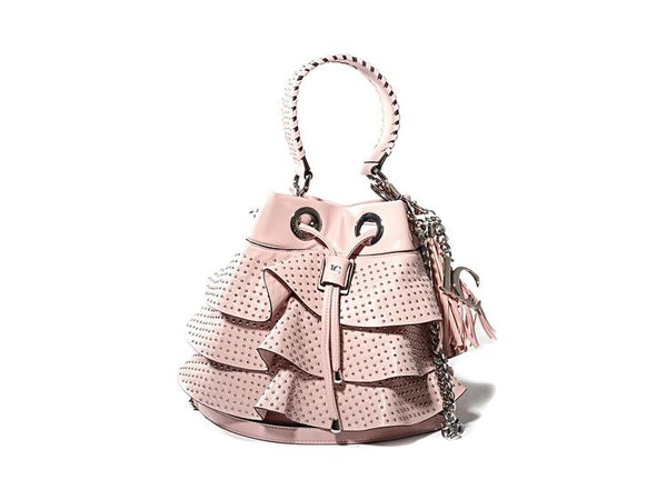 Microdot Bucket - Pink - mcfcuratedboutique