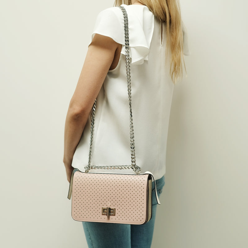 MICRODOT SHOULDER BAG - mcfcuratedboutique
