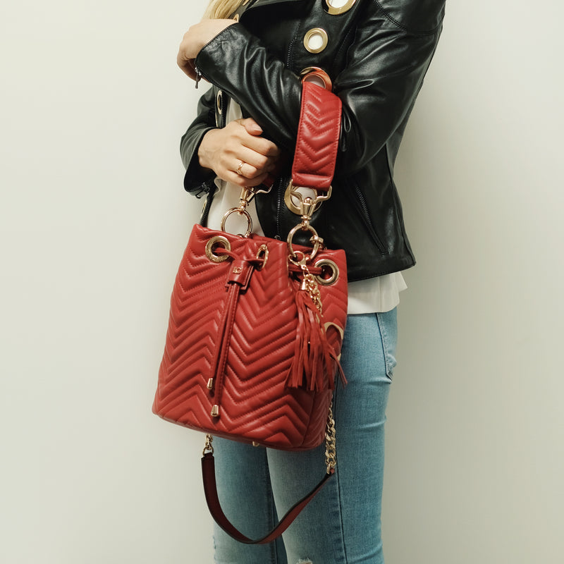 STICH&SPUN BELLA - RED - mcfcuratedboutique