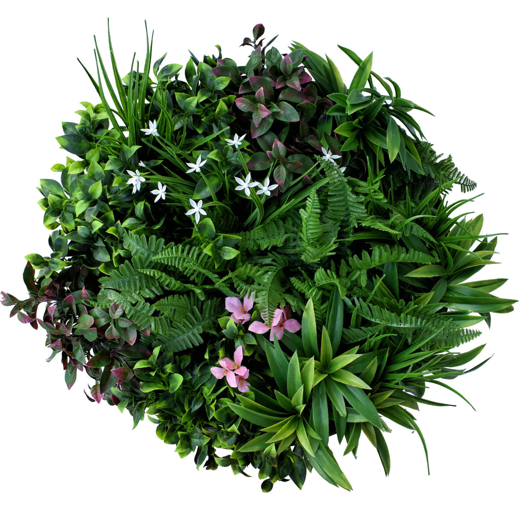 Green Wall Disk - Flower Pot 60Cm