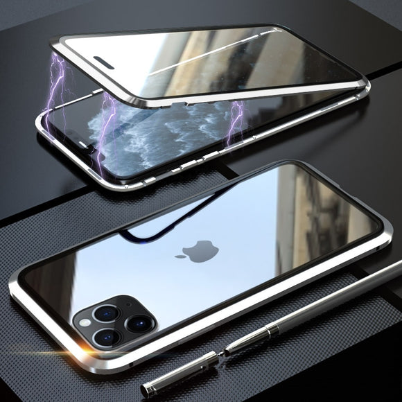 Double sided magnetic case for Iphone 11
