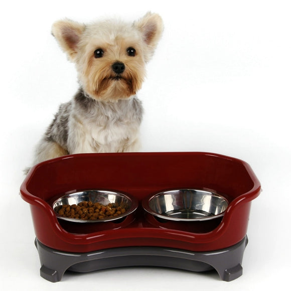 Pet Food Bowl & Water Dish