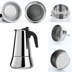 Stainless Steel Coffee Brewer
