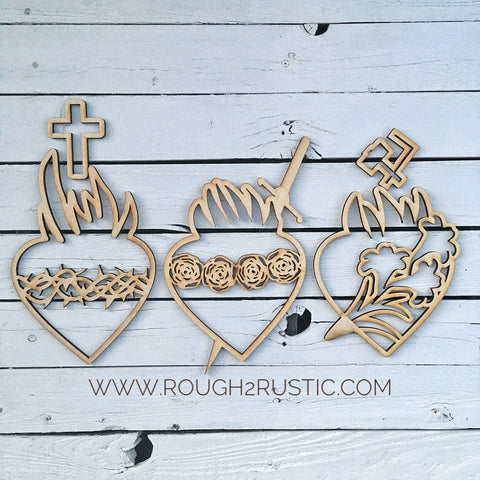 Holy Family Hearts are now available!