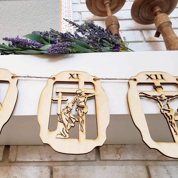 PREORDER Garland-Style 14 Stations of the Cross
