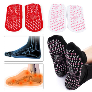 All Age Self-Heating Health Care Socks Tourmaline Magnetic Therapy Comfortable And Breathable Foot Massager Warm Foot Care Socks