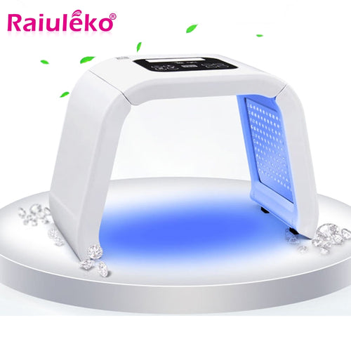 7 Colors PDF Led Light Facial Mask Therapy Beauty Whitening Skin Acne Remover Anti-wrinkle Phototherapy Spectrometer Skin Care
