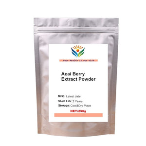 Nature Acai Berry Extract Powder 10:1 Weight Loss Health Supplement